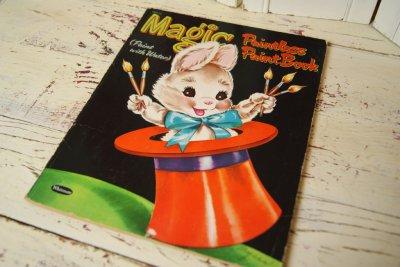 画像2: ☆WHITMAN ビンテージカラーリングブック☆Magic Paintless Paint Book