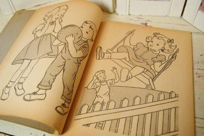 画像4: ☆WHITMAN ビンテージカラーリングブック☆Magic Paintless Paint Book