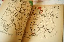 他の写真1: 未使用☆WHITMAN ビンテージカラーリングブック☆It's fun to READ and COLOR