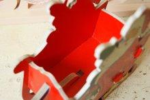 他の写真1: ☆DOLLY TOY クリスマス カードボードプルトイ/キャンディーコンテナ☆サンタクロース