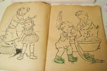 他の写真1: ☆MERRILL ビンテージカラーリングブック☆Nibbles the Bunny