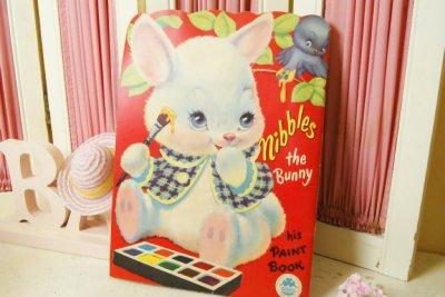 画像1: ☆MERRILL ビンテージカラーリングブック☆Nibbles the Bunny