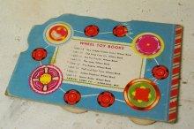 他の写真1: ☆SAMUEL LOWE ビンテージ ホイールトイブック☆Puff and Toot Train Wheel Book