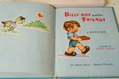 画像4: 希少☆BONNIE BOOK ビンテージポップアップブック☆BILLY BOY and his FRIENDS