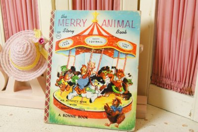 画像1: ☆BONNIE BOOK ビンテージブック☆the MERRY ANIMAL