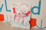 ☆ビンテージ バースデーカード☆HAPPY BIRTHDAY, 1 Year Old !