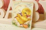 1947☆ビンテージ イースターカード☆HELLO! Happy Easter