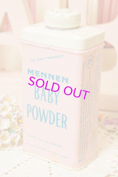 画像1: ☆MENNEN ビンテージ ベビーパウダー缶☆Baby Powder