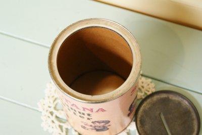 画像5: ☆SULTANA ビンテージ ピーナツバター缶/コインバンク☆