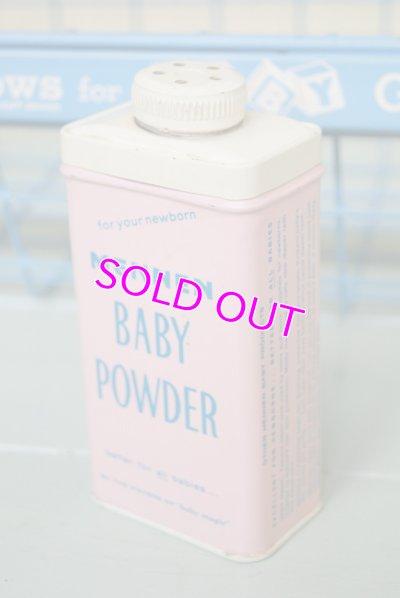 画像2: ☆MENNEN ビンテージ ベビーパウダー缶☆Baby Powder