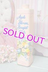 ☆BYRON ビンテージ パウダー缶☆Apple Blossom Bouquet Talc
