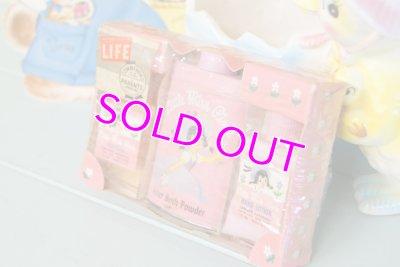 画像1: レア!未使用☆ビンテージ パウダー&ローション&コロンセット☆Little Miss Pixie