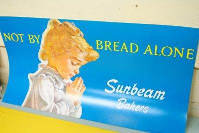 画像2: 1976年 デッドストック Sunbeam サンビーム ストアペーパーサイン 28cmx53.5cm