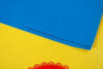画像4: 1976年 デッドストック Sunbeam サンビーム ストアペーパーサイン 28cmx53.5cm