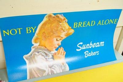 画像3: 1976年 デッドストック Sunbeam サンビーム ストアペーパーサイン 28cmx53.5cm
