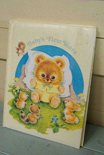 画像1: 1981年未使用☆FRANCES WOSMEK ビンテージ ベビー レコードブック☆Baby's First Years