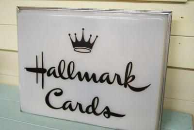 画像2: ☆Hallmark Cards/ホルマーク カード ビンテージ ライトバナーサイン☆