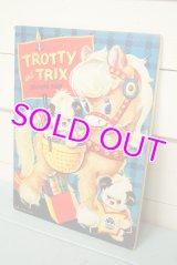☆MERRILL ビンテージ カラーリングブック☆TROTTY and TRIX