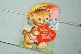 ☆ビンテージ バレンタインカード☆a Valentine FOR A VERY NICE GIRL