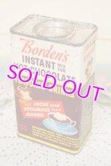 Borden/ボーデン☆ビンテージ ホットチョコレート缶☆エルシー