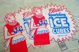 Borden☆未使用 ビンテージ キューブアイスバッグ2枚セット☆Elsie/エルシー