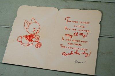 画像2: ☆ビンテージ イースターカード☆Happy Easter TOMY GODCHILD