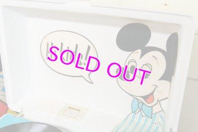 画像2: レア!箱入り完品☆ビンテージ GE レコードプレーヤー☆ミッキーマウス