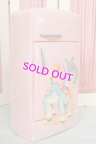 画像2: ☆TICO ビンテージ ドール用冷蔵庫☆ピンク