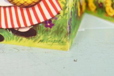 画像3: 30.2cm M.Cooper☆ビンテージ イースターカード☆For You, GRANDDAUGHTER, at Easter