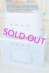 未使用☆50sスタイル!SMEG スメッグ トースターTSF01(2枚焼き)