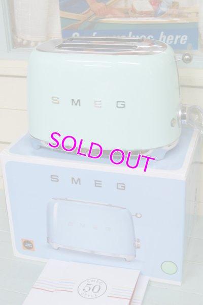 画像1: 未使用☆50sスタイル!SMEG スメッグ トースターTSF01(2枚焼き)