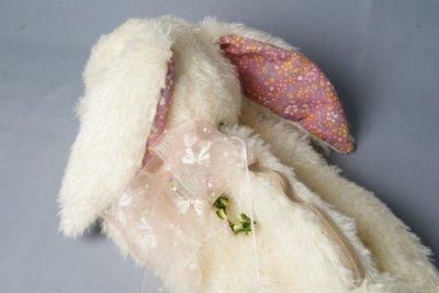 画像3: ぬいぐるみ工房tara うさぎのポーチ