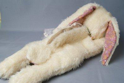 画像2: ぬいぐるみ工房tara うさぎのポーチ