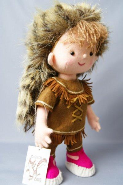 画像2: ぬいぐるみ工房tara 小さな狩人