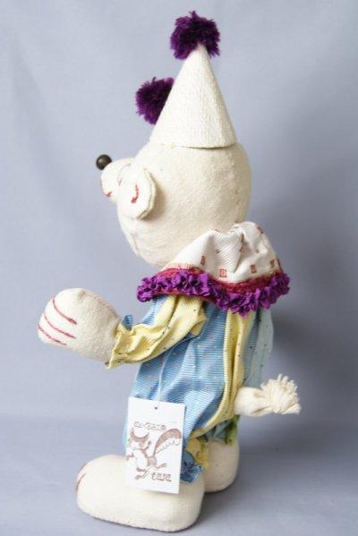 画像3: ぬいぐるみ工房tara サーカス白くま