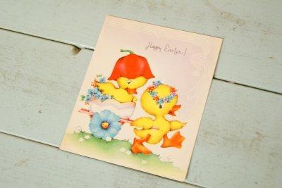 画像1: ☆ビンテージ イースターカード☆Happy Easter