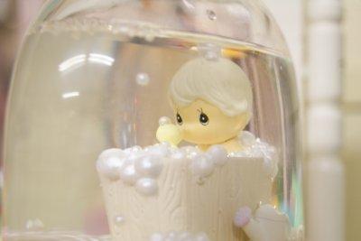 画像3: 1989年Precious Moments☆プレシャスモーメント スノードーム☆A Tub Full Of Love