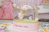 1991年 Precious Moments☆プレシャスモーメント スノードーム☆Happy Easter Friend