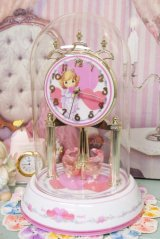2003年 箱付 未使用  Precious Moments☆プレシャスモーメンツ ドーム型クロック☆ジャンク品