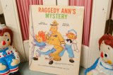 1962年☆SAALFIELD Raggedy Ann ビンテージブック☆RAGGEDY ANN'S MYSTERY