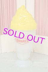 ☆Denny's デニーズ サンデー ソーダカップ☆イエロー