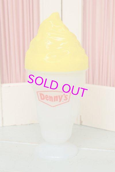 画像1: ☆Denny's デニーズ サンデー ソーダカップ☆イエロー