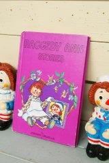 1975年☆THE BOBBS MERRILL Raggedy Ann ビンテージブック☆RAGGEDY ANN STORIES