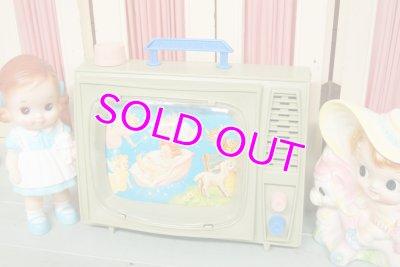 画像1: レア!☆OHIO ART ビンテージ TVスクリーン ミュージックボックス☆グリーン
