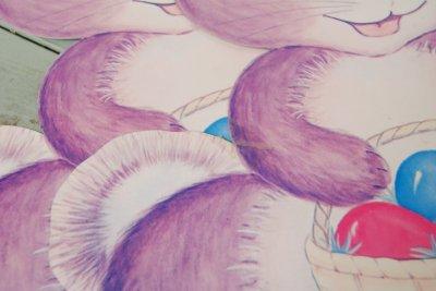 画像5: 37cm☆ビンテージ イースター ペーパーデコレーション☆バニーセット
