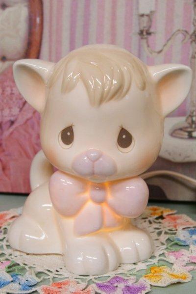 画像1: 箱付き1994年 Precious Moments☆プレシャスモーメンツ キティー ナイトライト☆