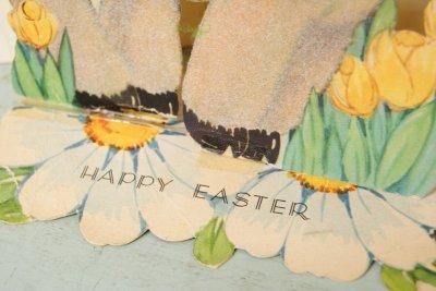 画像3: ☆ビンテージ ジャイアント イースターカード☆Happy Easter