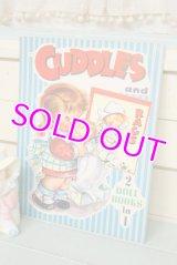 レア!未使用☆SAMUEL LOWE ビンテージペーパードールブック☆CUDDLES 2 in 1ブック