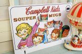 42x62cm 1993年☆Campbell Kids キャンベル ビンテージ ストアサイン☆