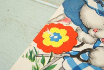 画像4: ☆ビンテージ バースデーカード☆HAPPY BIRTHDAY LITTLE GIRL